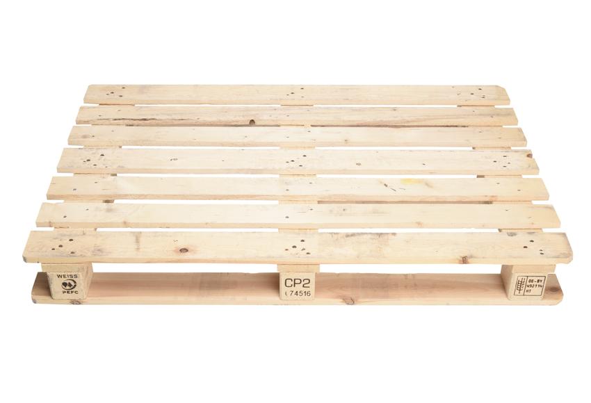 Tipo y tamaños de palets de madera