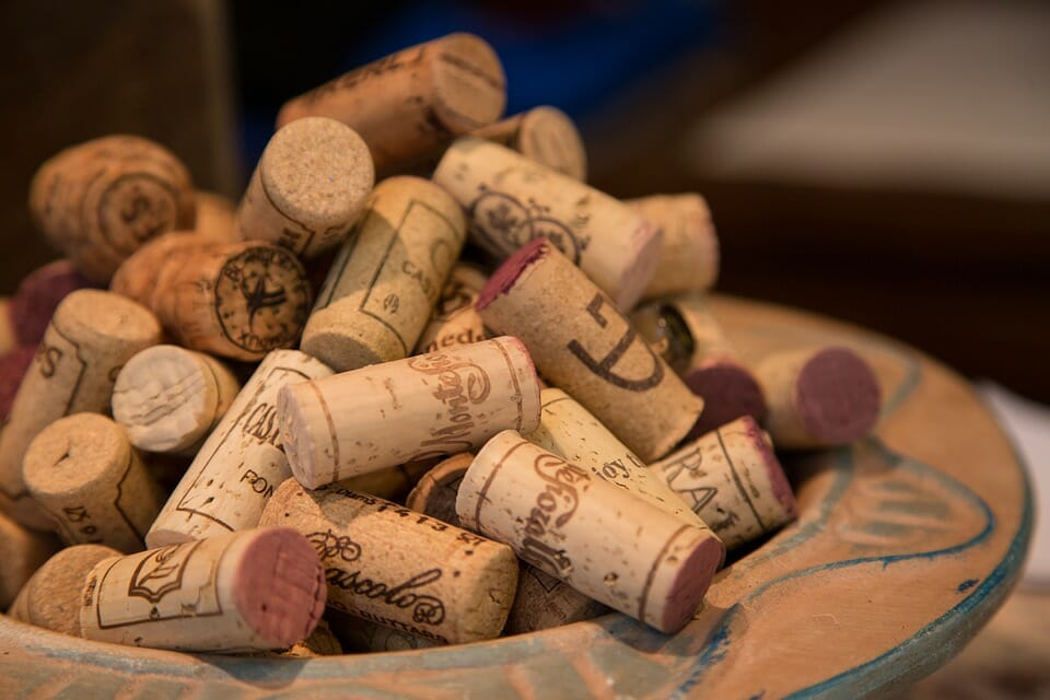 Transporte de vino en palets